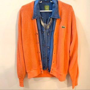 Lacoste • Vintage Cardigan